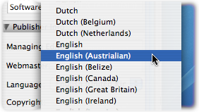 Incorrect Spelling of Australia in Feeder