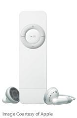 iPod Shuffle: Front
