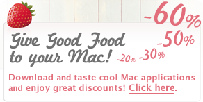 Give Good Food to Your Mac