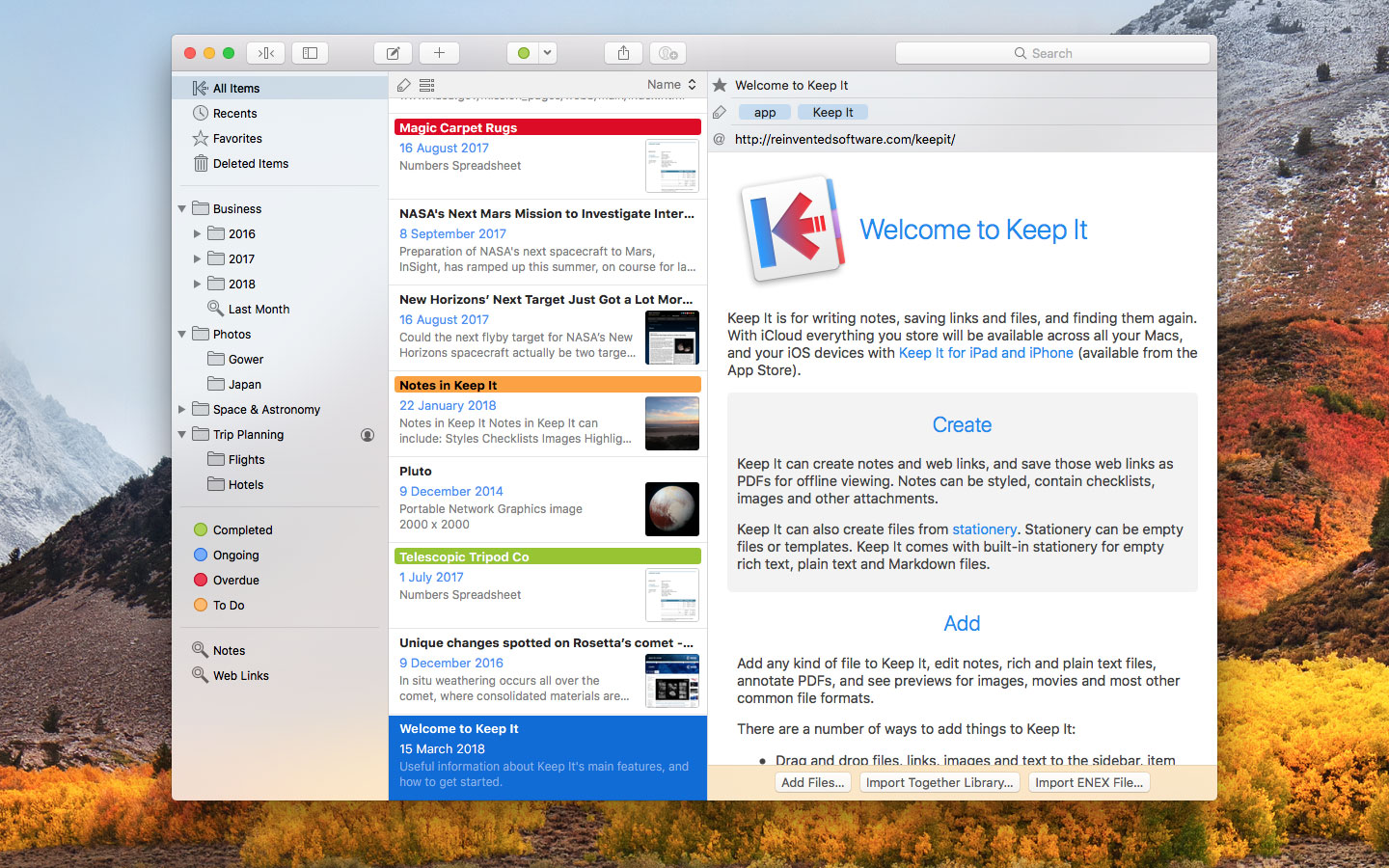Keep It 1.3 adds iCloud folder sharing, PDF annotation and more Image