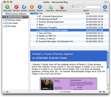 Feeder 1.2.2 screenshot