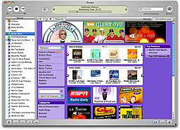 Podcast Genre in iTunes Music Store