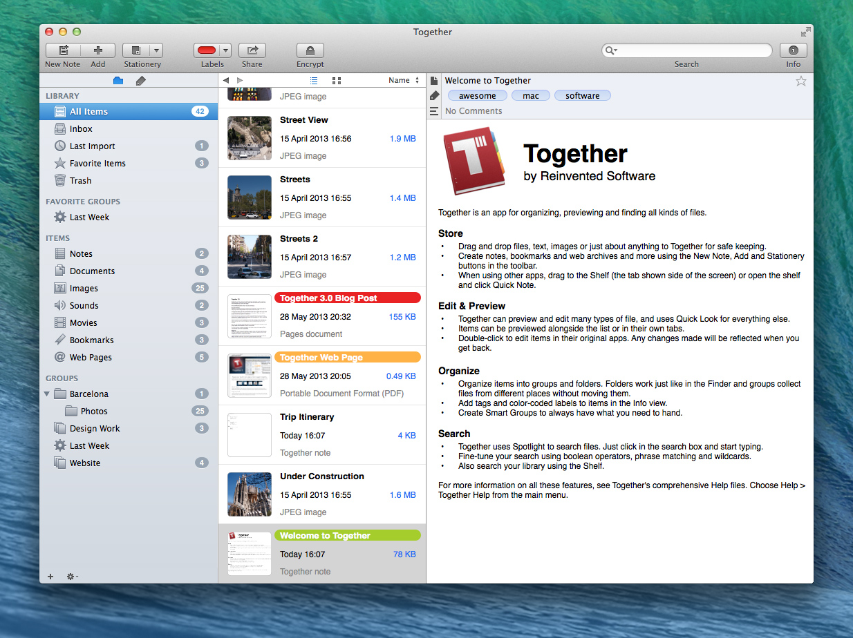 Together 3.1 screenshot