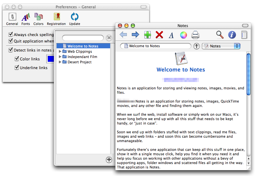 Notes 3.0 screenshot