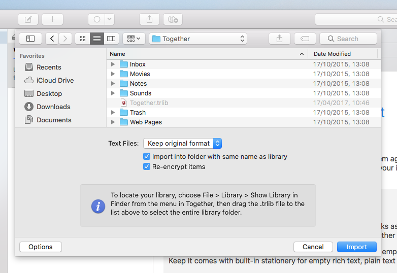 Reinvented Software - Support - Keep It for Mac